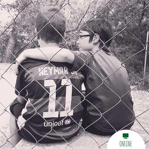amigos futbol
